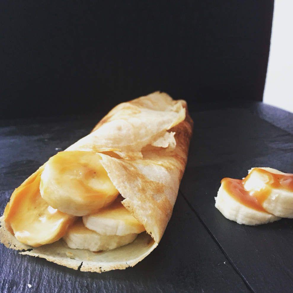 Crepe au caramel au beurre salé