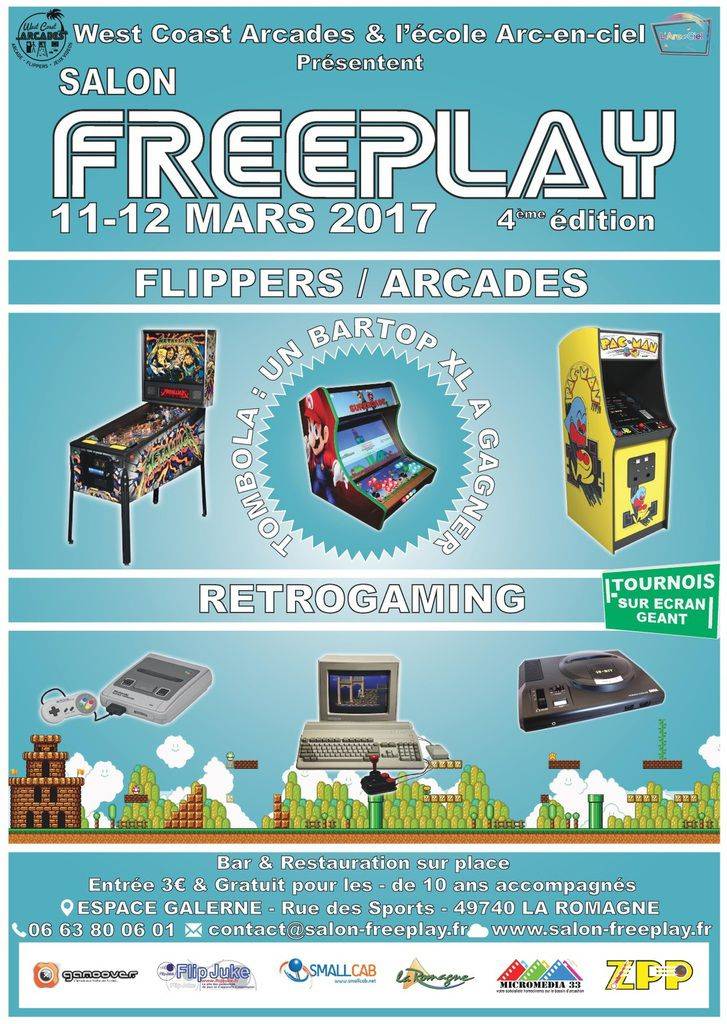 Salon freeplay 11 et 12 mars 2017 crazyflip for Salon paris mars 2017