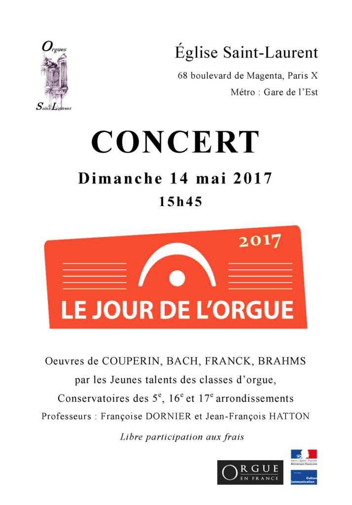 Concert Jeunes talents, Dimanche 14 mai, 15h45