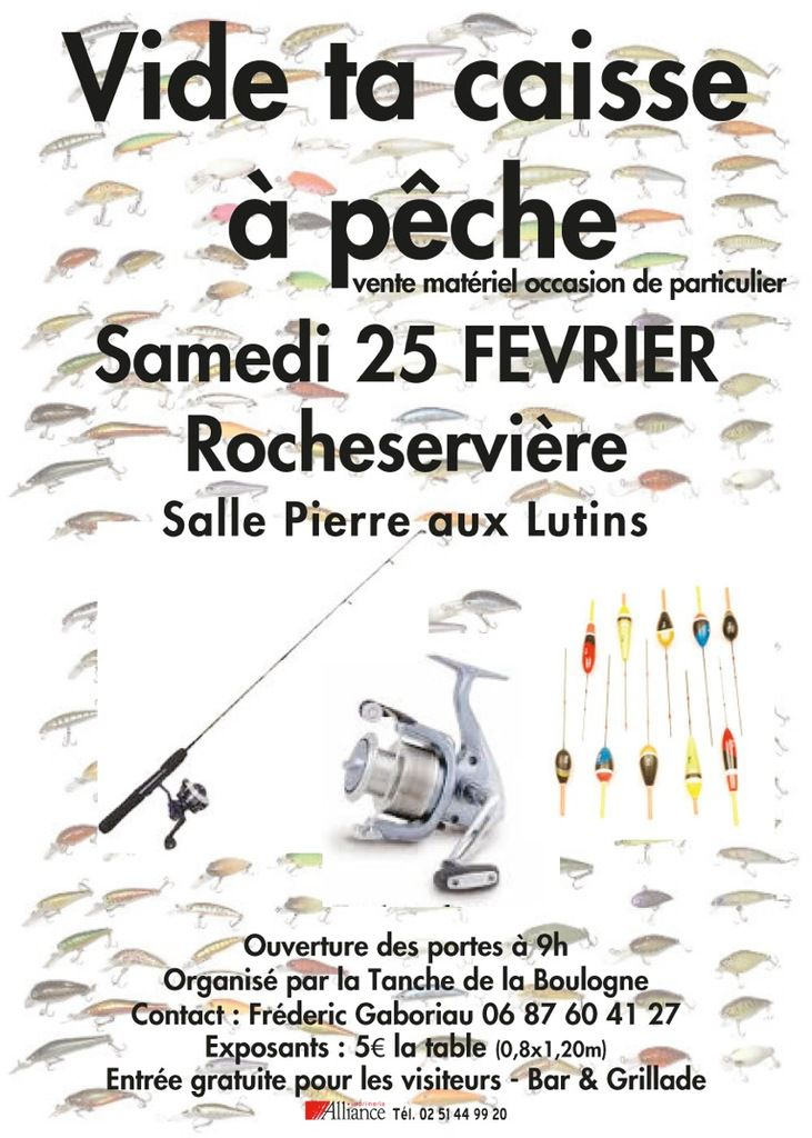 Vide ta Caisse à Pêche 2017 - Inscription