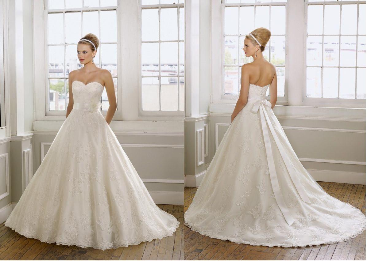 7 inoubliables robes de mariées princesse de l'année 2014