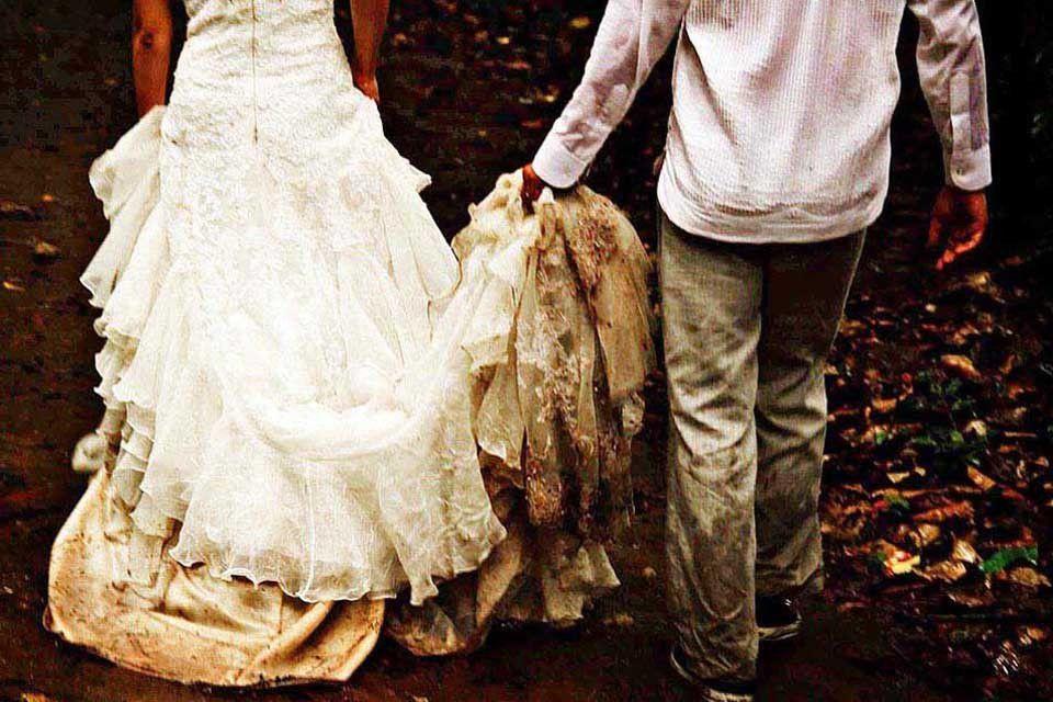 Comment nettoyer sa robe de mariée ? - Marié