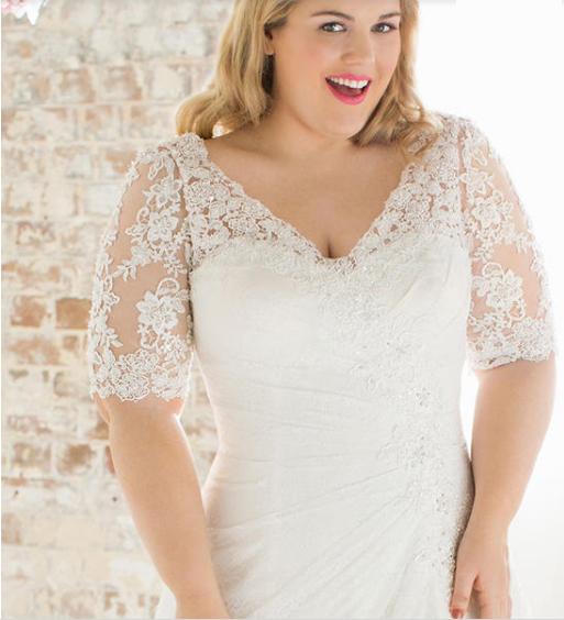 Les plus belles robes de mariée grandes tailles