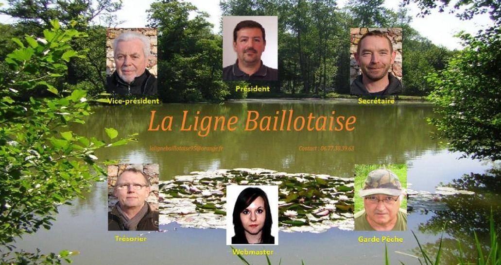 Organigramme du bureau de la Ligne Baillotaise