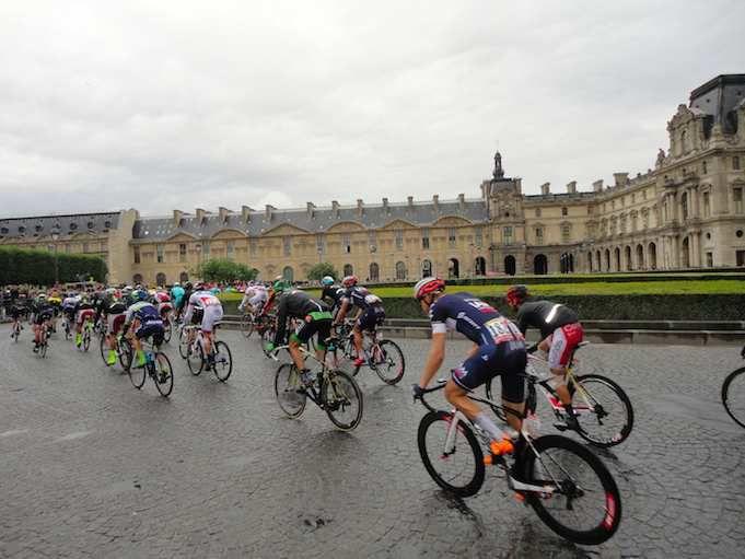 Tour de France in Louvre
