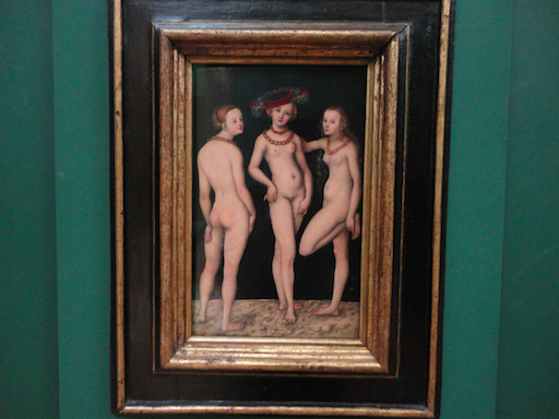The Three Graces by Lucas Cranach
