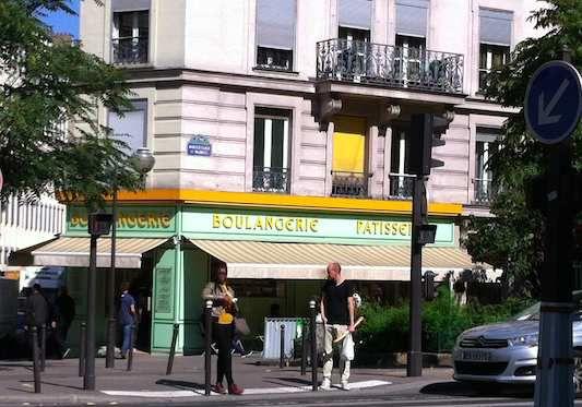 """Bakery """"Magnelli"""" in Paris"""