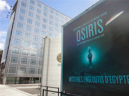 Osiris exhibition at The Institut du Monde Arabe
