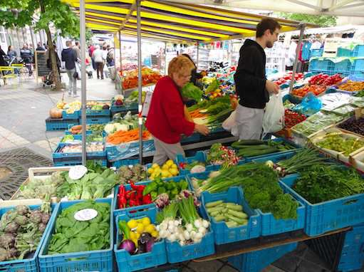 Greengroser in Saint Gilles Market