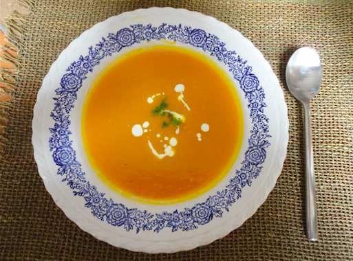 Red Kuri Pumpkin Soup