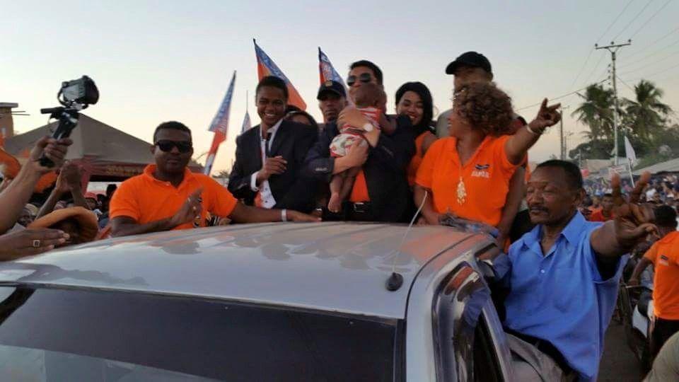 Andry Rajoelina à Mahajanga, le 25 juillet 2015. L'EVEIL D'UN PEUPLE