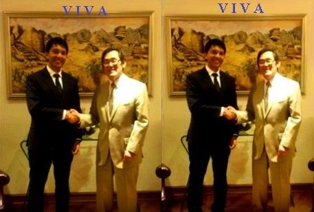 Andry Rajoelina reçoit l'ambassadeur des U.S.A., Robert T. Yamate, le 10 novembre 2016