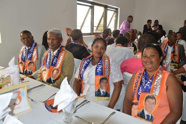 Andry Rajoelina. Bonne année 2017 à l'ARENA, le 12 février 2017. PHOTOS 1
