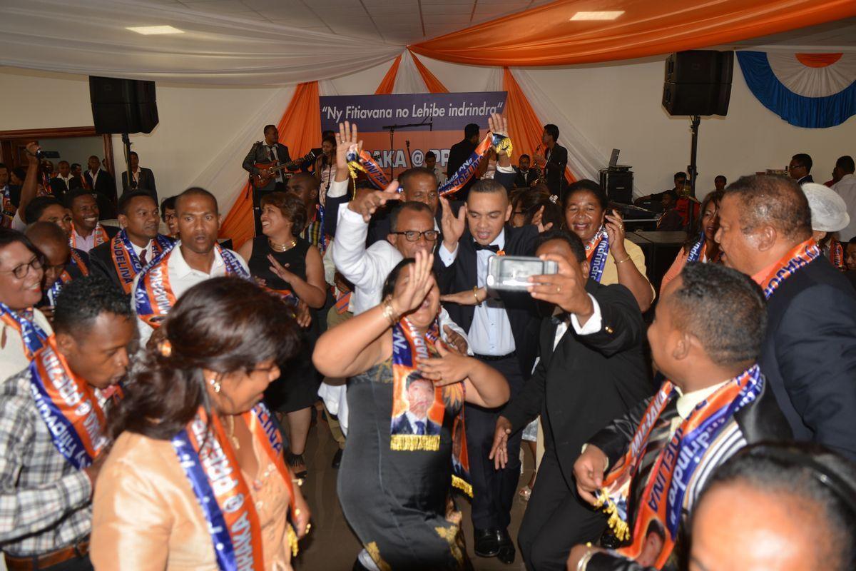 Andry Rajoelina. Bonne année 2017 à l'ARENA, le 12 février 2017. PHOTOS 2
