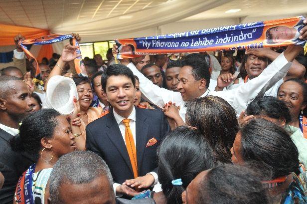 Andry Rajoelina. Bonne année 2017 à l'ARENA, le 12 février 2017. PHOTOS 3