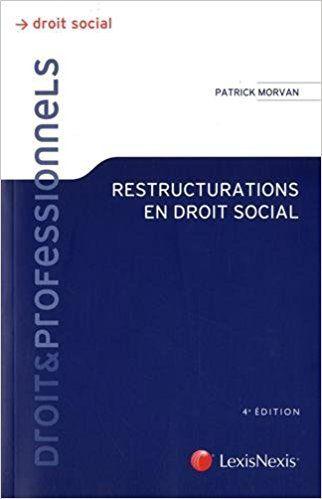 Nouvelle édition des Restructurations en droit social