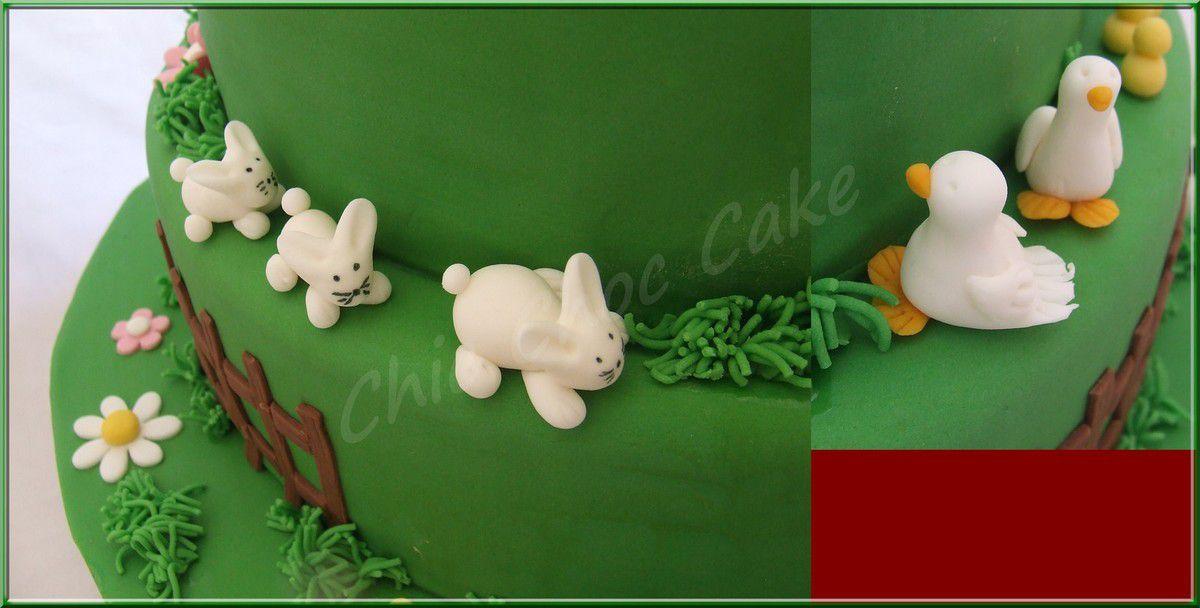 Quelques modelages en pâte à sucre....