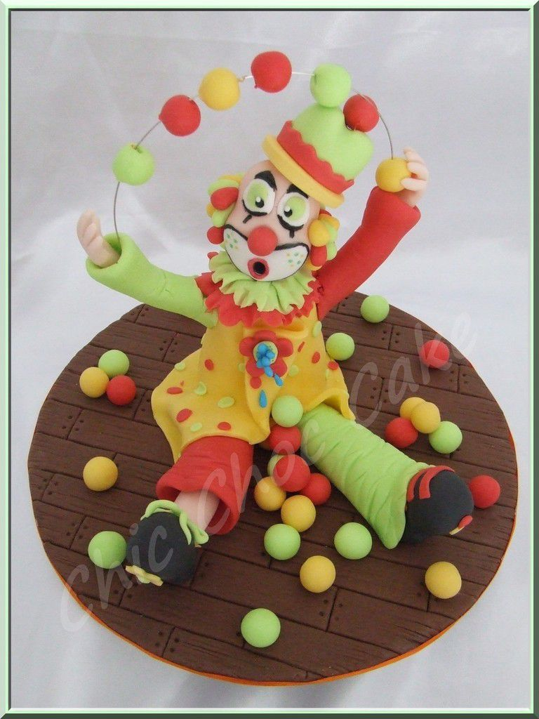Jojo le clown jongleur...