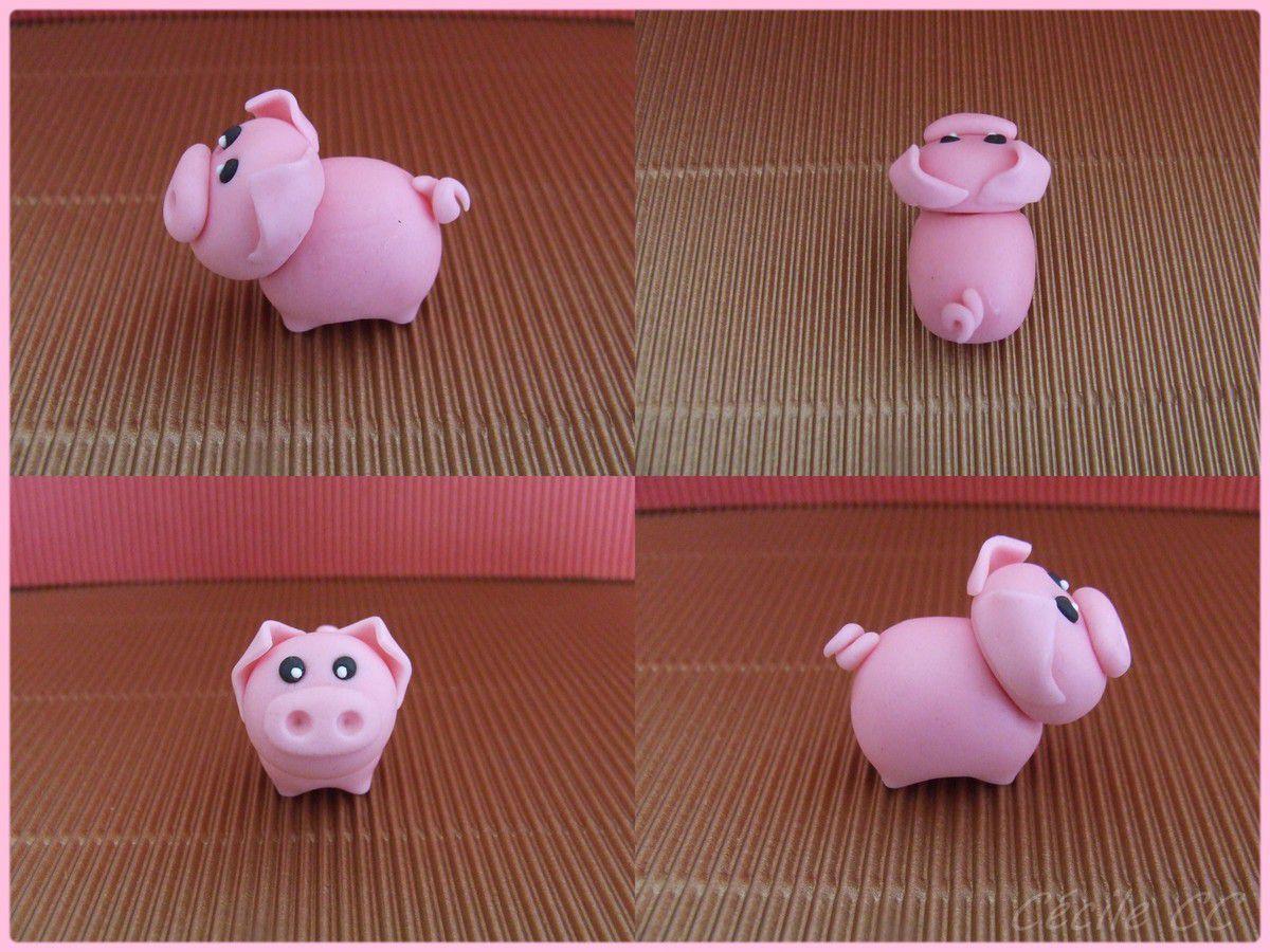 Tutoriel : modelage d'un petit cochon...