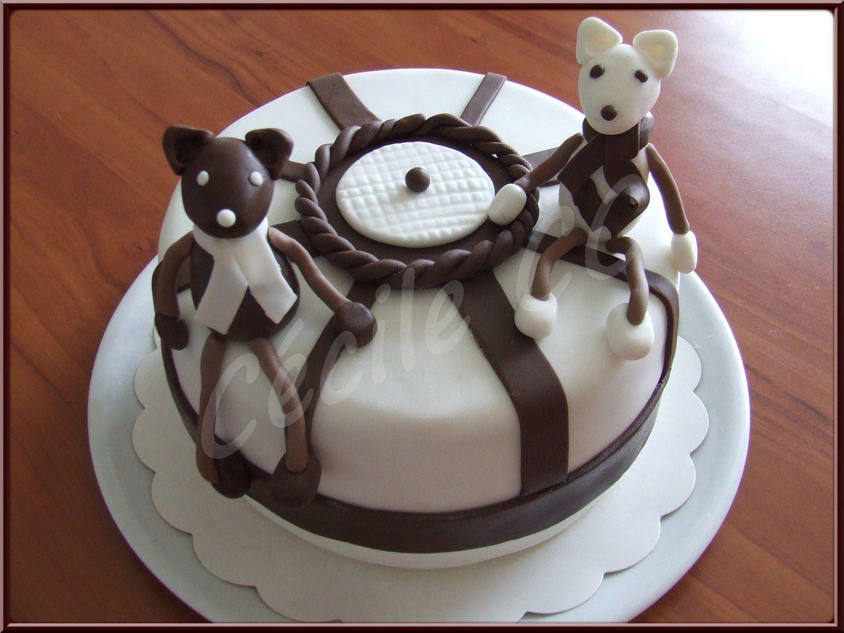 Mme Vanille et M. Chocolat.