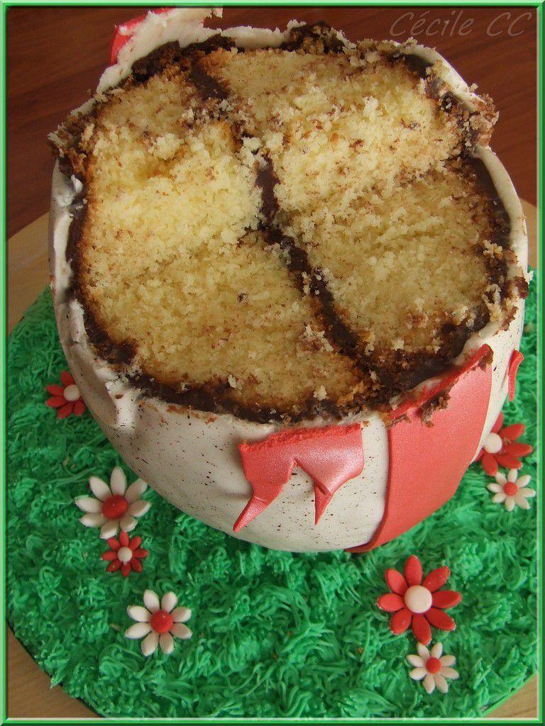 Tutoriel pour faire un gâteau oeuf de Pâques en 3D...