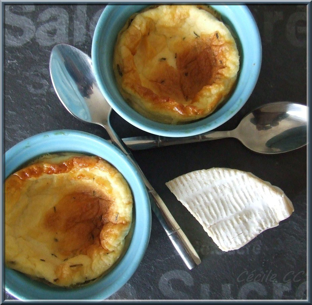 Pot de crème au camembert...