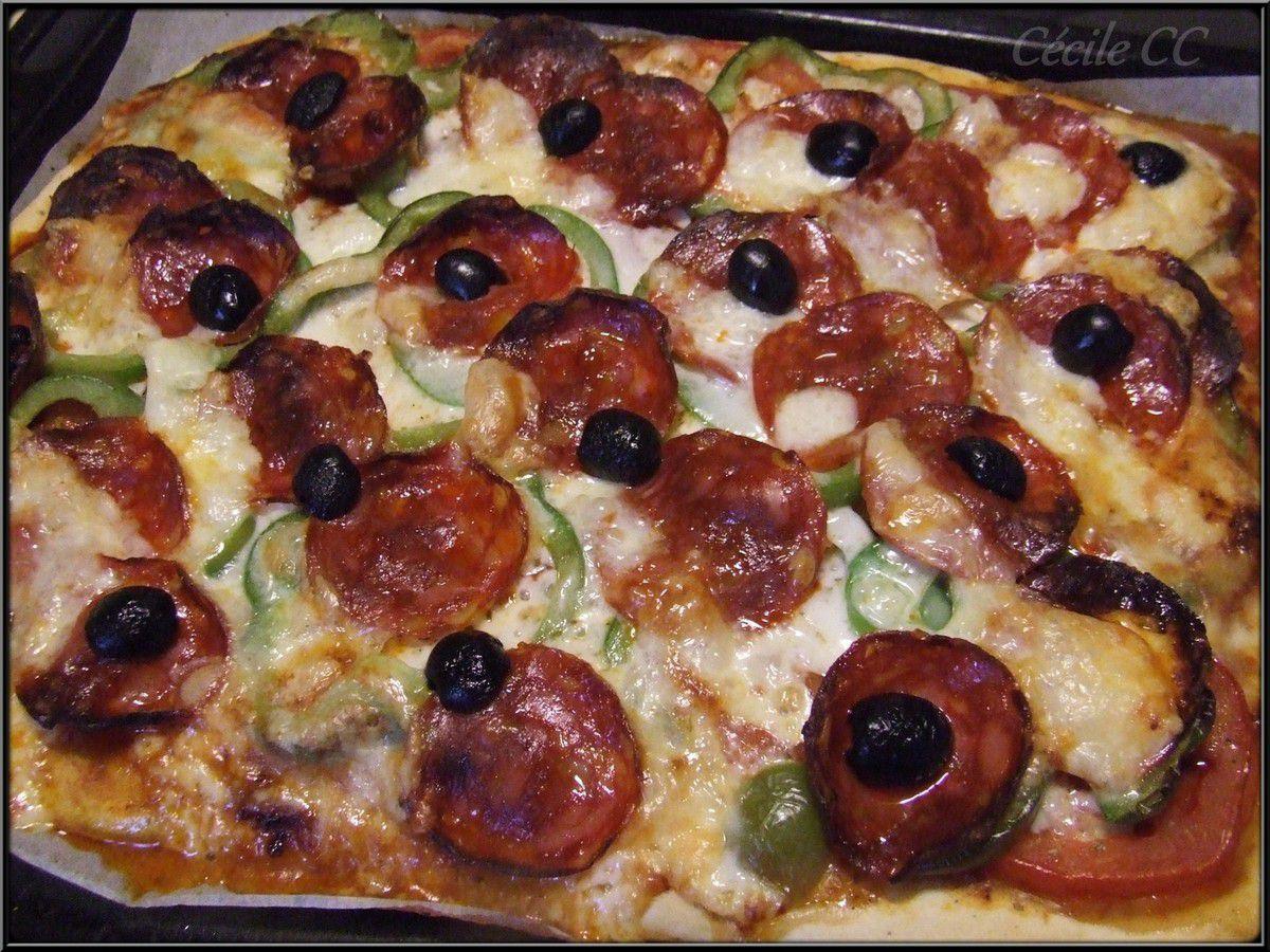 Pizza à l'espagnol...