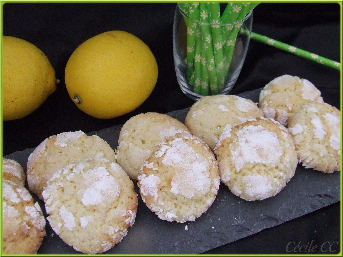 Crinkles au citron...