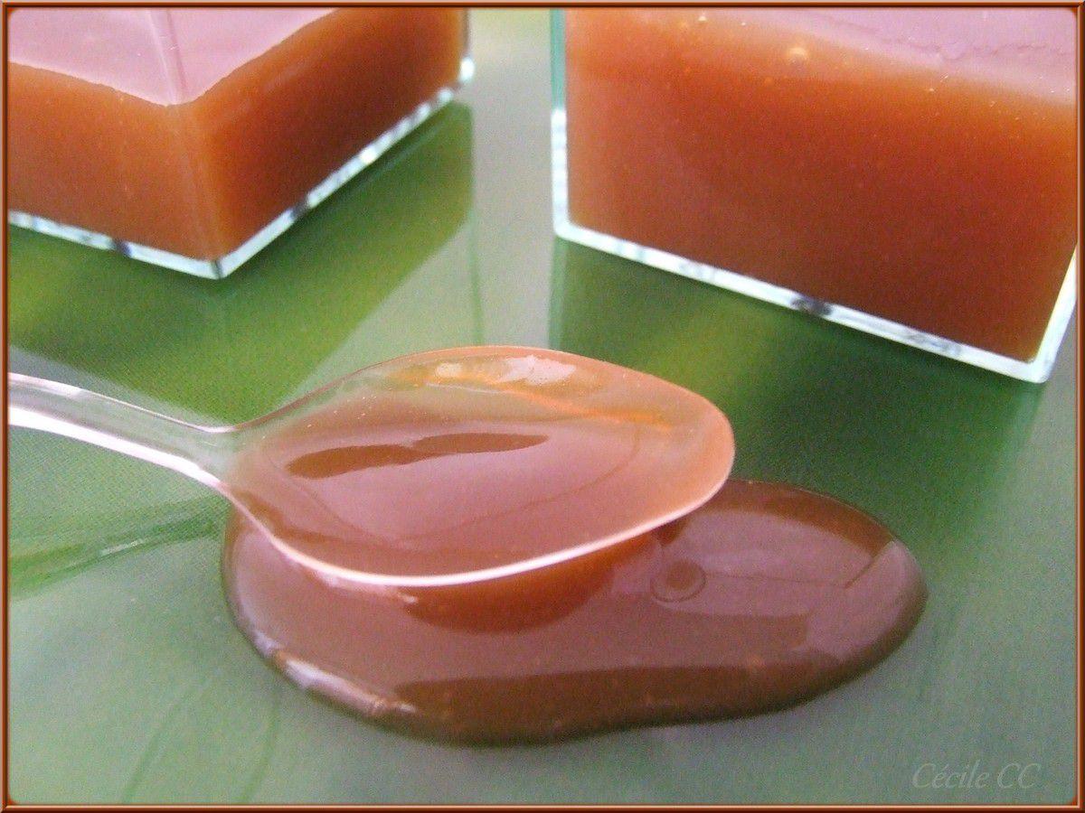Sauce caramel au beurre salé...