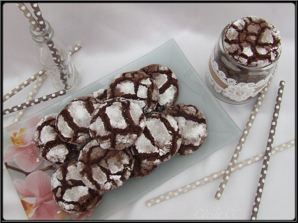Crinkles au chocolat...