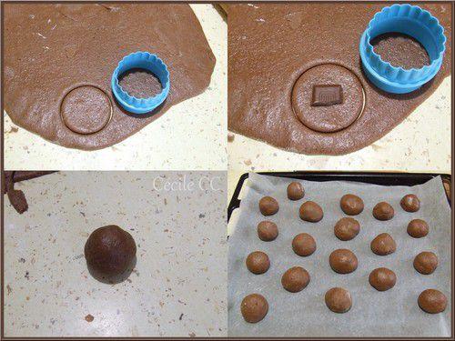 Pain d'épices fourré chocolat....
