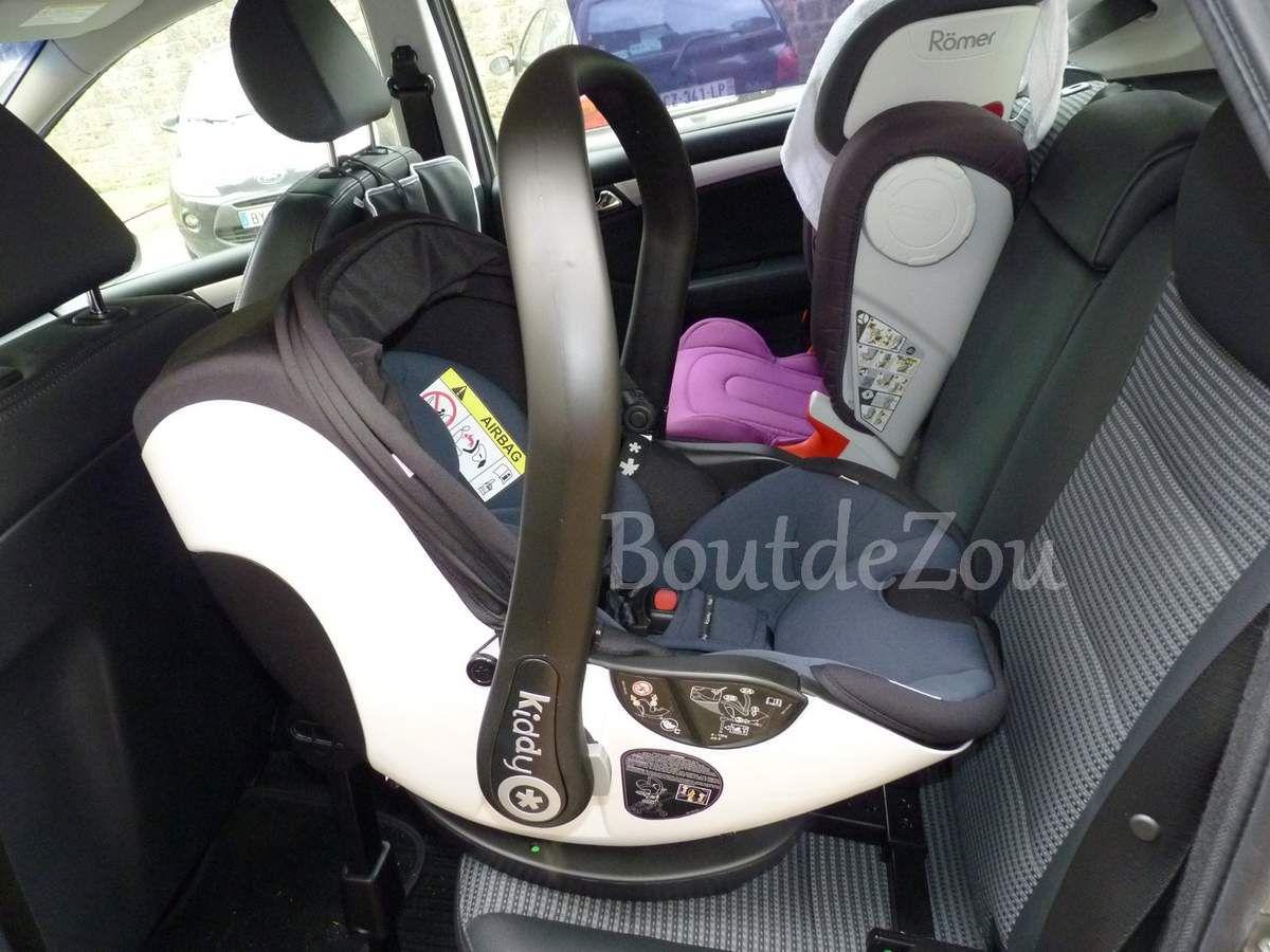 L'évolunafix de Kiddy, le siège auto de Babyboy