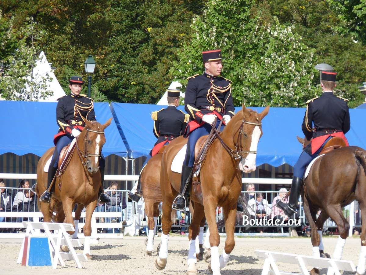Les journées portes ouvertes de la Garde Republicaine à Vincennes