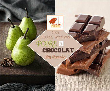 Cake poires chocolat