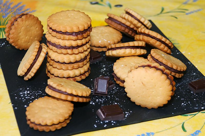 Biscuits au chocolat façon Prince de LU pour ma Little Princess