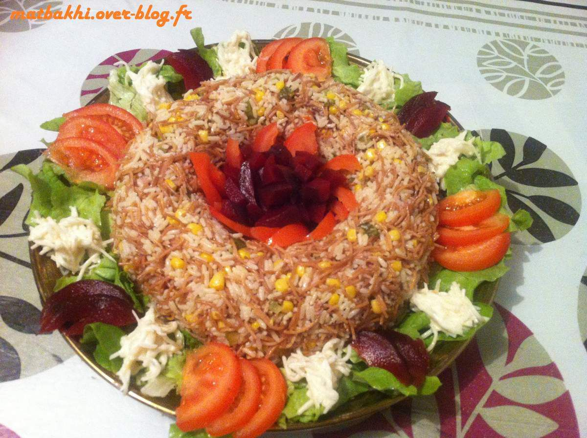 decoration salade