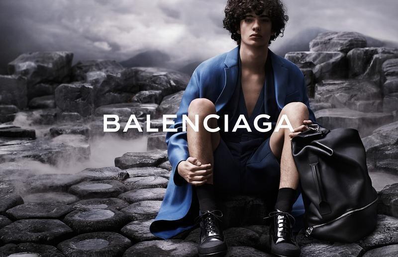 BALENCIAGA - SPRING SUMMER 2015 MEN'S CAMPAIGN