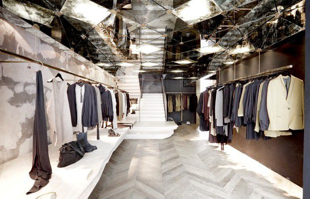 DAMIR DOMA STORE IN PARIS / BY RODNEY EGGLESTON_MARCH STUDIO