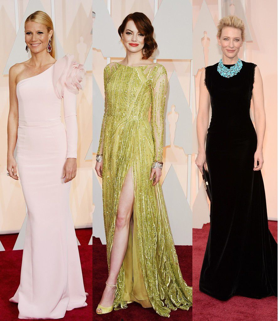 OSCARS 2015 RED CARPET / BEST DRESSED WOMEN