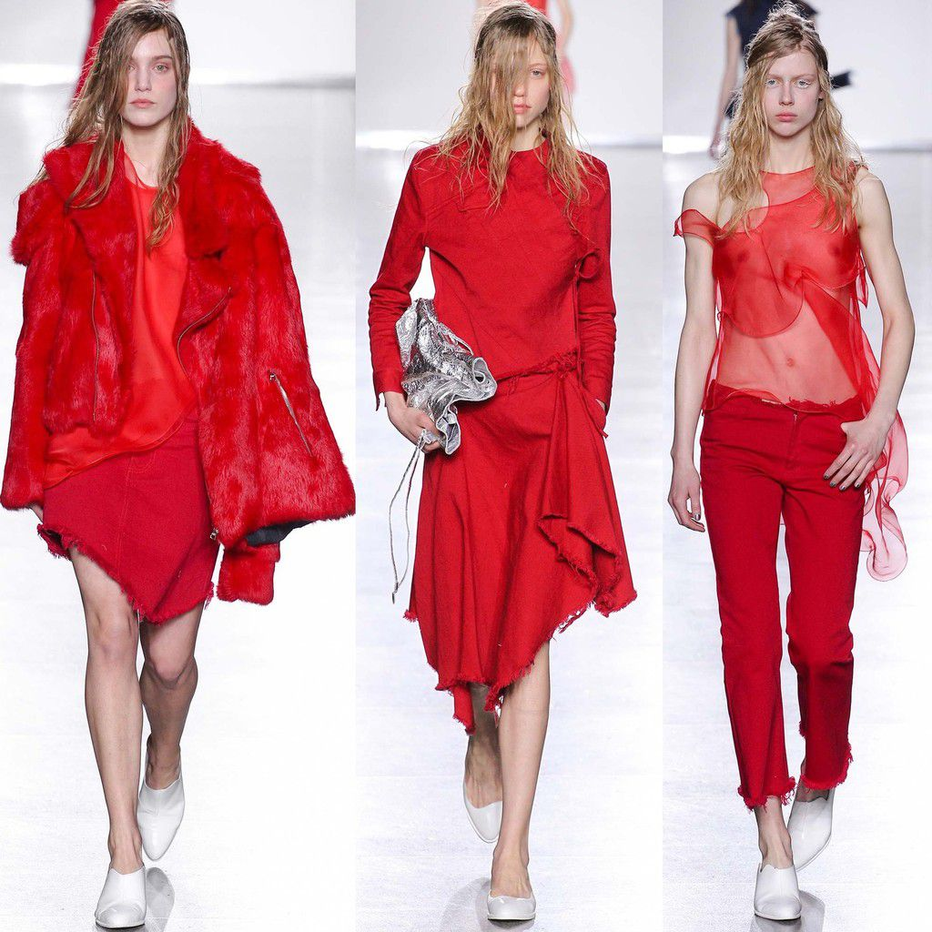 LONDON FASHION WEEK / MARQUES'ALMEIDA - FALL WINTER 2015/16