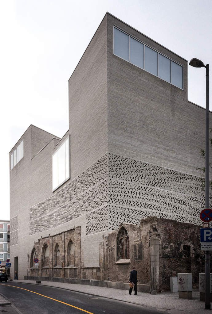 KOLUMBA ART MUSEUM IN COLOGNE by PETER ZUMTHOR