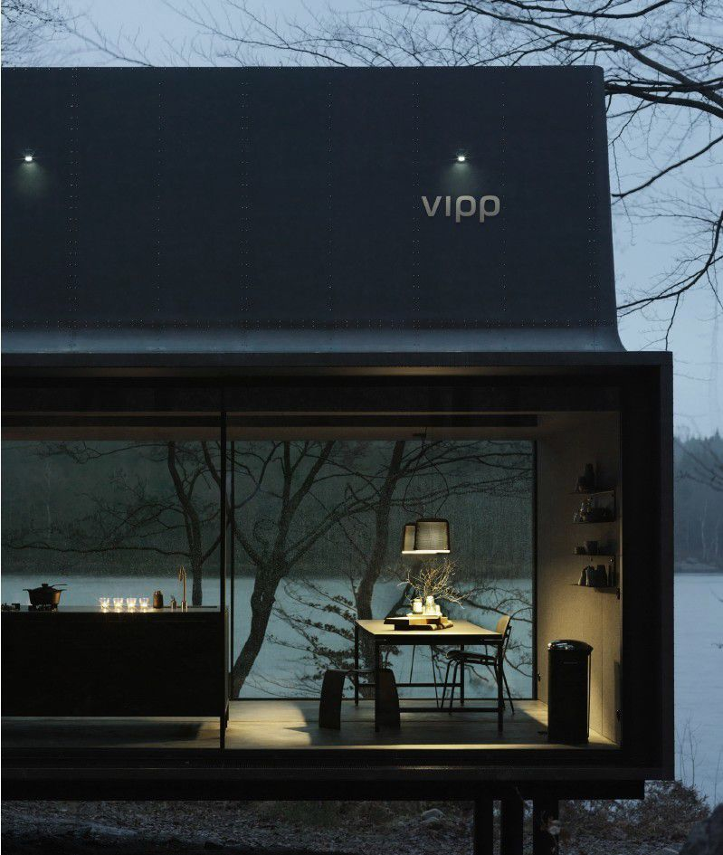 THE VIPP SHELTER / A GETAWAY HOUSE OF 55M2