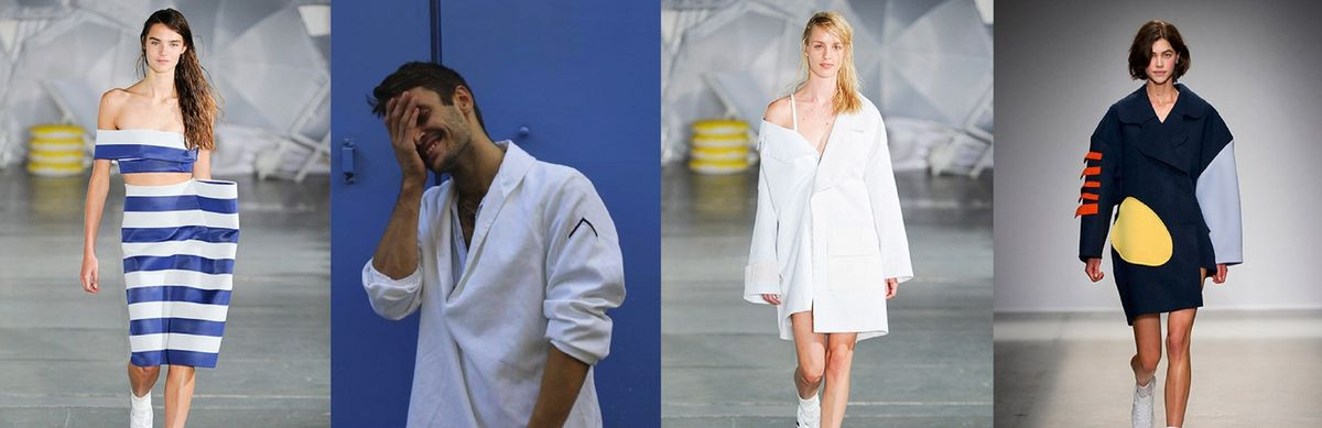 Jacquemus by Simon Porte Jacquemus shortlisted for LVMH Prize 2015