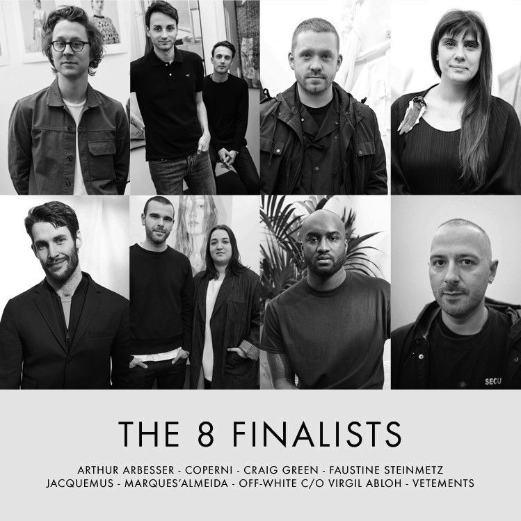 LVMH PRIZE 2015 / DISCOVER THE 8 FINALIST