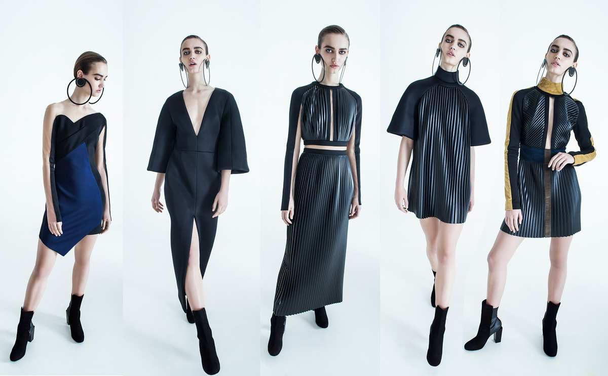 "SYLVIO GIARDINA - FW 2015/16 ""BLACK MIRROR"" COLLECTION"