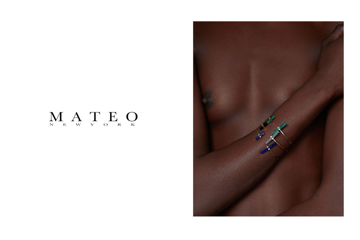 MATEO NEW YORK - SS15 JEWELLERY COLLECTION