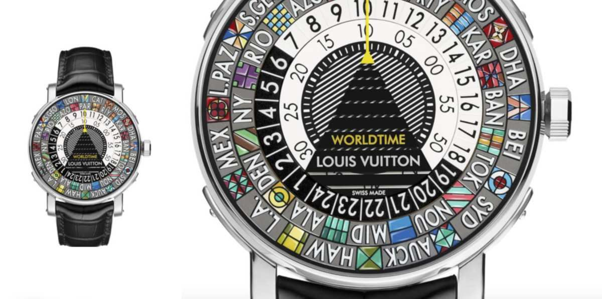 THE SCALE WORLDTIME WATCH by LOUIS VUITTON / LIVING &amp&#x3B; TRAVELING IN STYLE