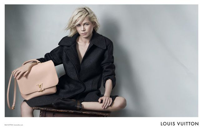 THE NEWEST LOUIS VUITTON HANDBAGS CAMPAIGN / WITH MICHELLE WILLIAMS