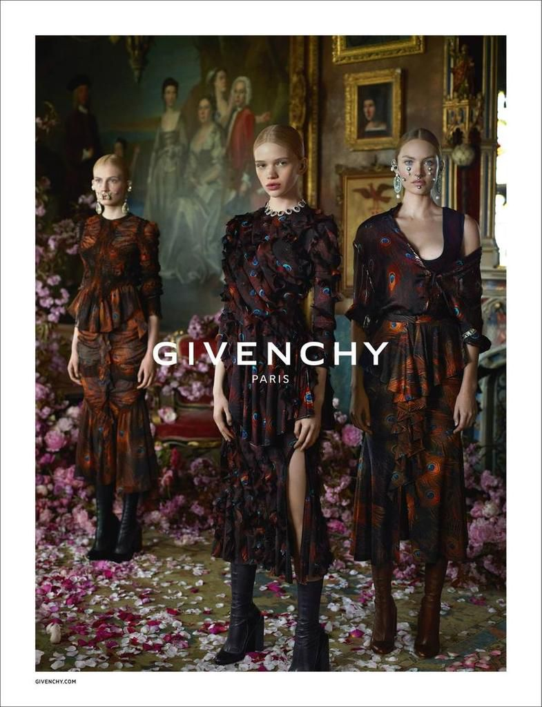 GIVENCHY - FALL/WINTER 2015 AD CAMPAIGN