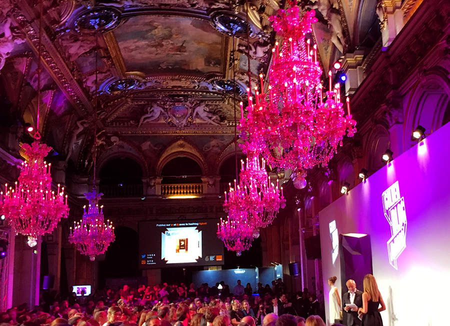 GBAwards ceremony at the city hall of Paris / 2015